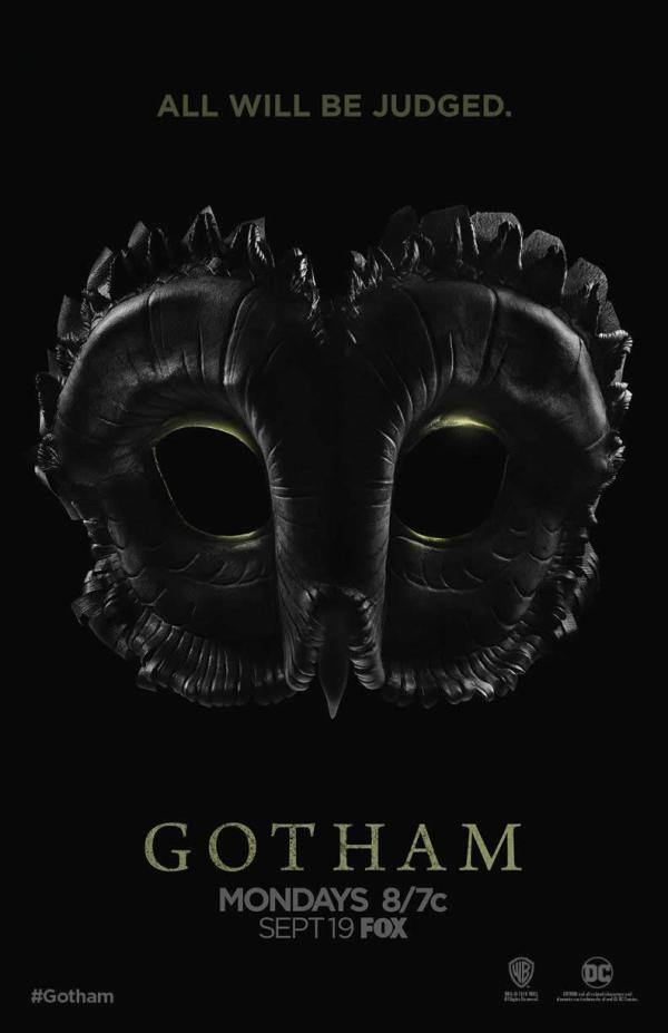 SÉRIES | Divulgado o pôster da terceira temporada de Gotham!