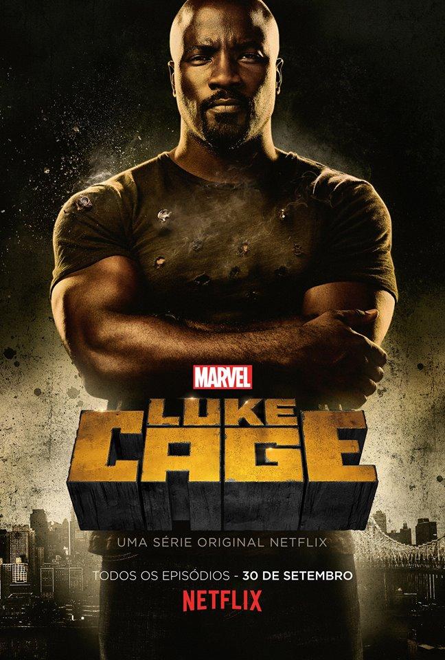 SÉRIE | Divulgado o primeiro pôster oficial da série do Luke Cage!