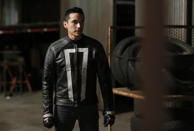Confira uma nova imagem do Motorista Fantasma em Agents of S.H.I.E.L.D.