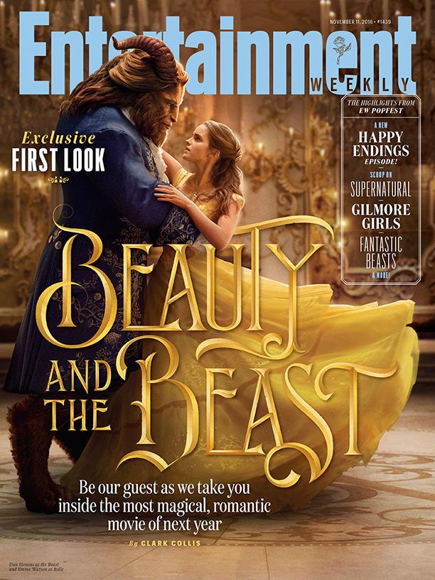 Divulgada a primeira imagem oficial da Emma Watson em A Bela e a Fera!