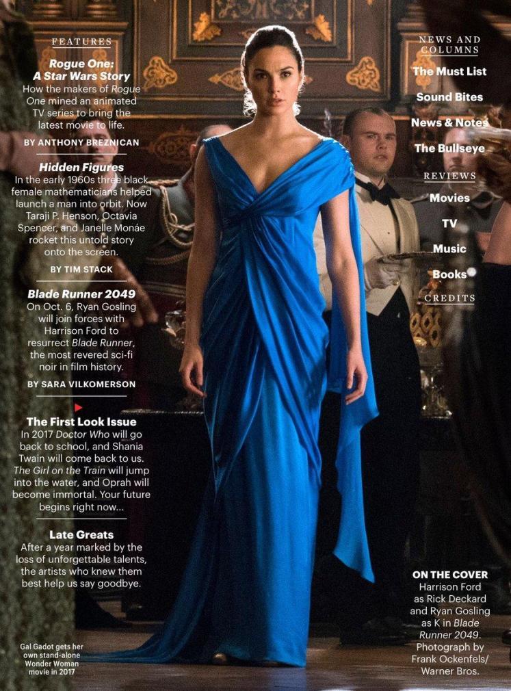 Diana aparece de vestido em uma nova imagem do filme solo da Mulher-Maravilha!