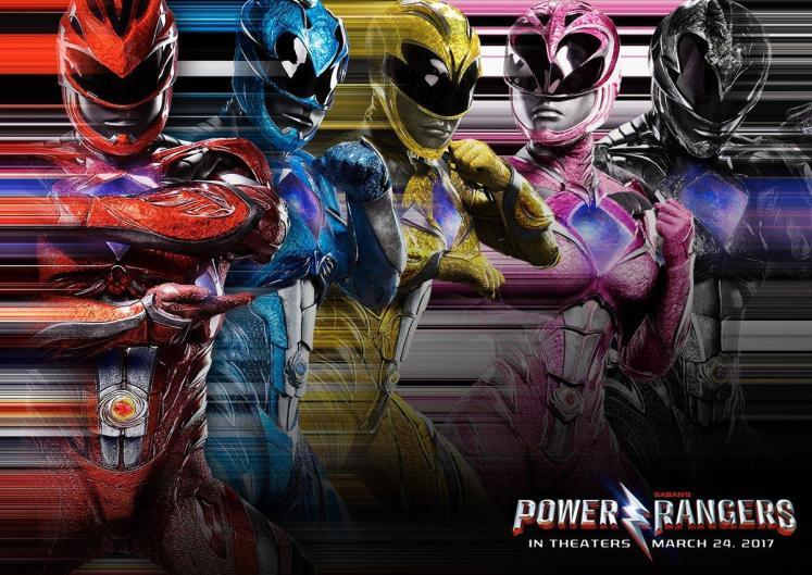Divulgado um novo banner dos Power Rangers com os heróis reunidos!