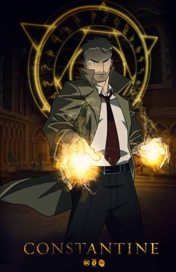 Constantine está de volta pelo canal CW como série animada!