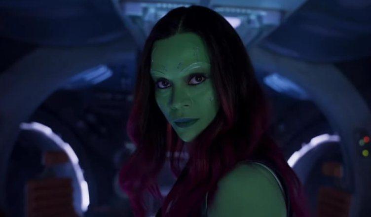 Zoe Saldana confirma que Gamora estará em Vingadores: Guerra Infinita!