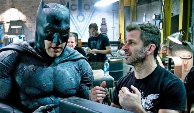 Zack Snyder divulga nova foto do Batman em Liga da Justiça!