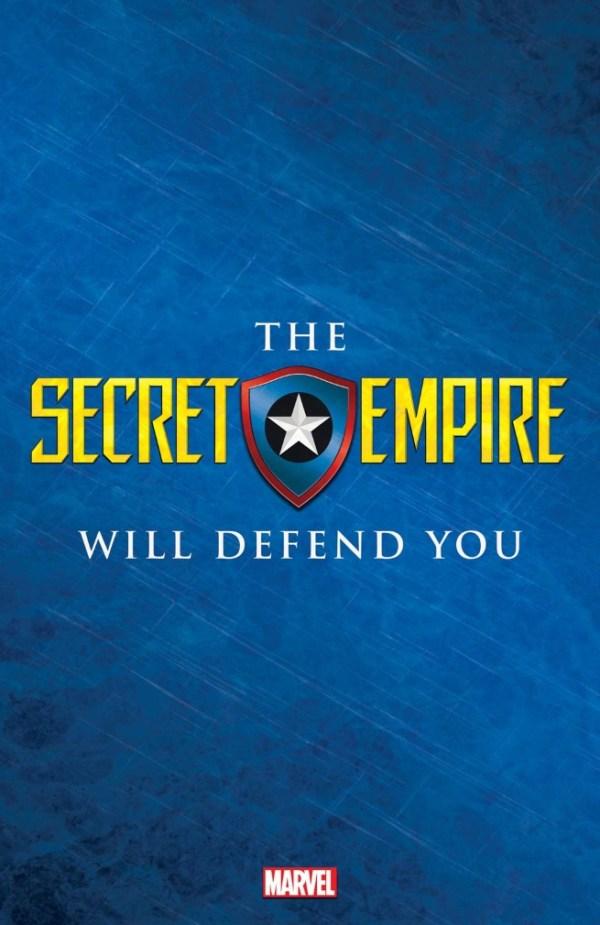Secret Empire será a nova saga do Capitão América HYDRA!
