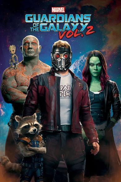 Confira novos cartazes de Guardiões da Galáxia Vol. 2