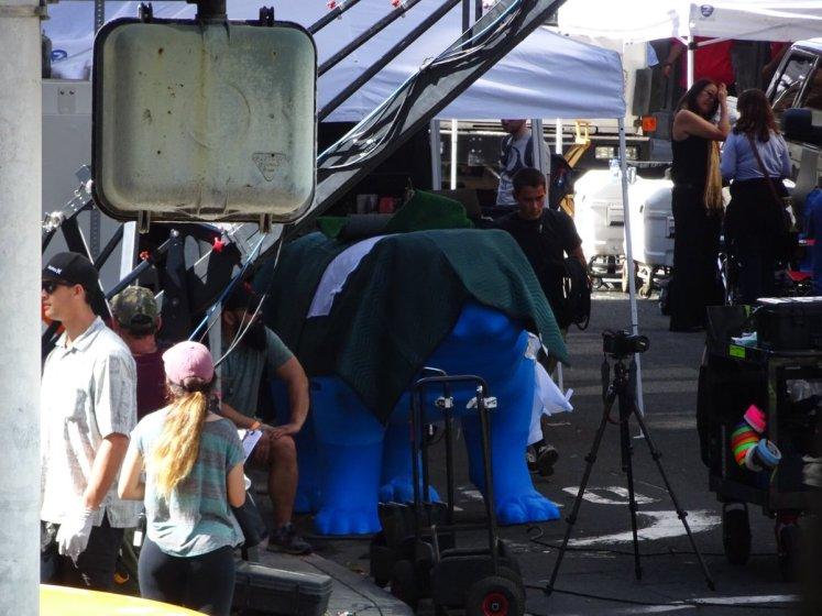 Raio Negro e Dentinho aparecem nas primeiras fotos do set da série dos Inumanos!