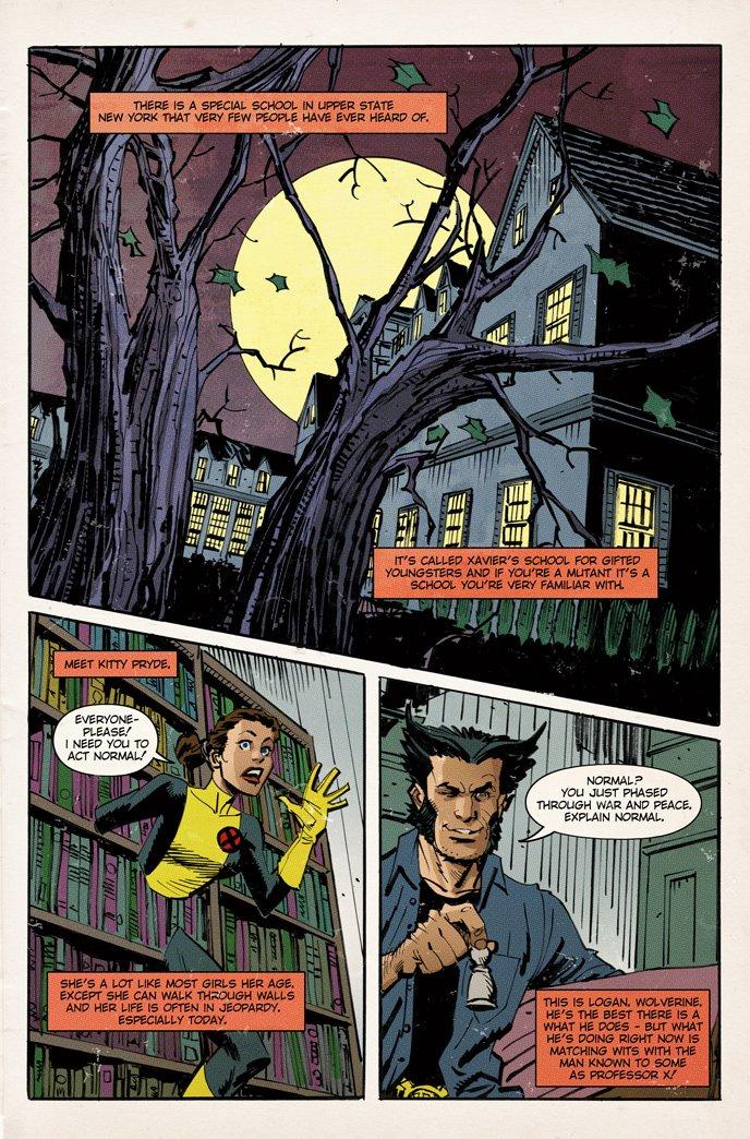 Saiba mais das outras páginas da HQ dos X-Men mostrado no filme do Logan!
