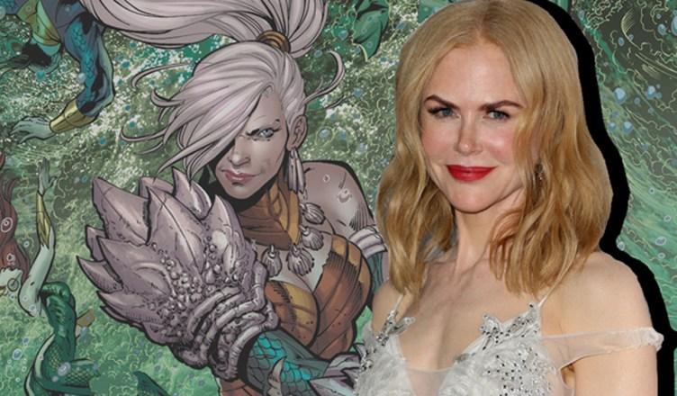Nicole Kidman fala sobre o seu papel no filme do Aquaman!