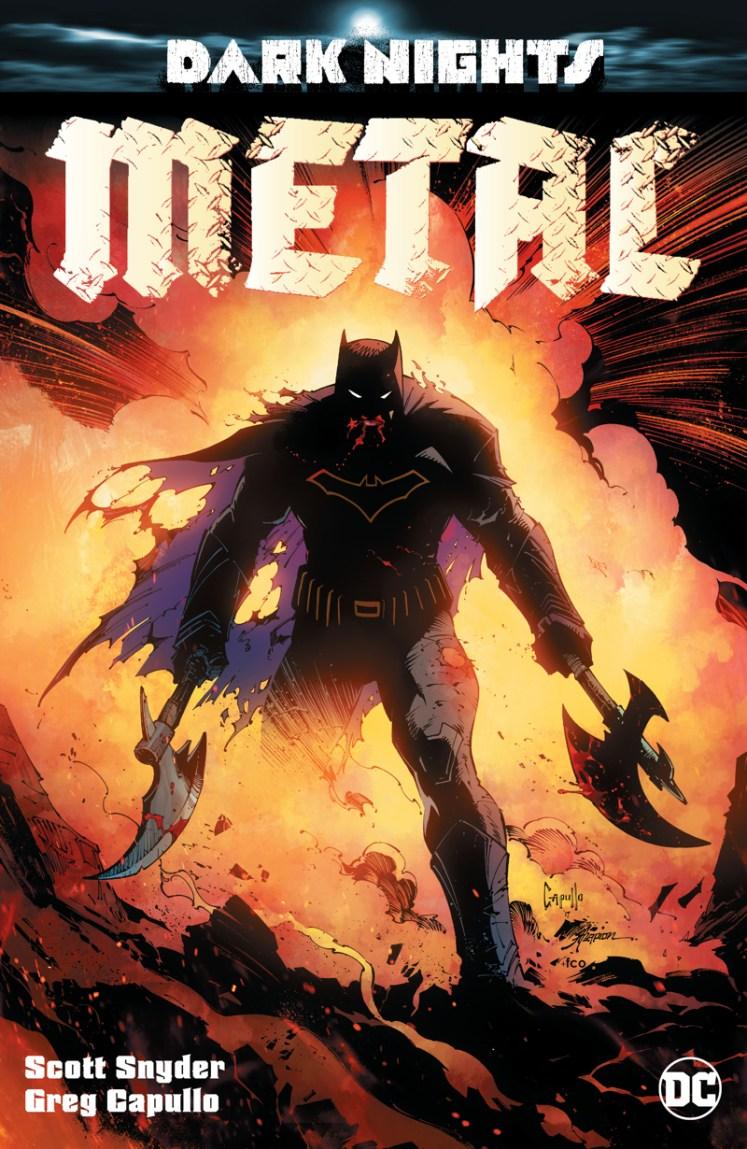 DC anuncia Dark Nights: Metal, nova HQ do Batman com Scott Snyder e Greg Capullo!
