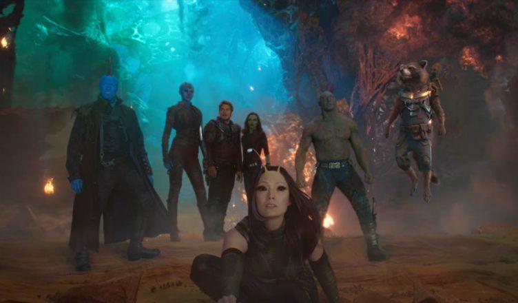 Confira os novos cartazes animados e musicais do filme Guardiões da Galáxia Vol. 2