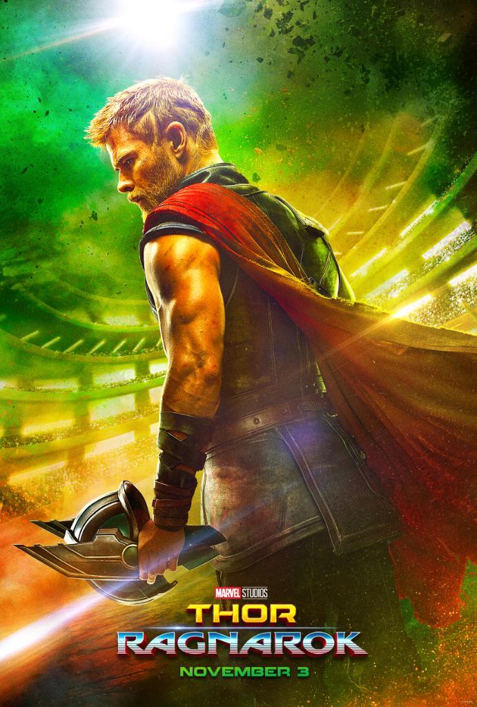 Divulgado o primeiro pôster oficial de Thor: Ragnarok!