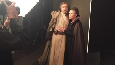 Divulgadas novas imagens dos bastidores de Star Wars: Os Últimos Jedi!