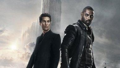 Pistoleiro e Homem de Preto aparecem juntos em um novo pôster de A Torre Negra!