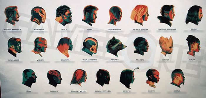 Thanos e membros da Ordem Negra aparecem em novas artes conceituais de Vingadores: Guerra Infinita!