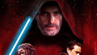 The Walking Dead divulga pôster homenageando Star Wars: Os Últimos Jedi!