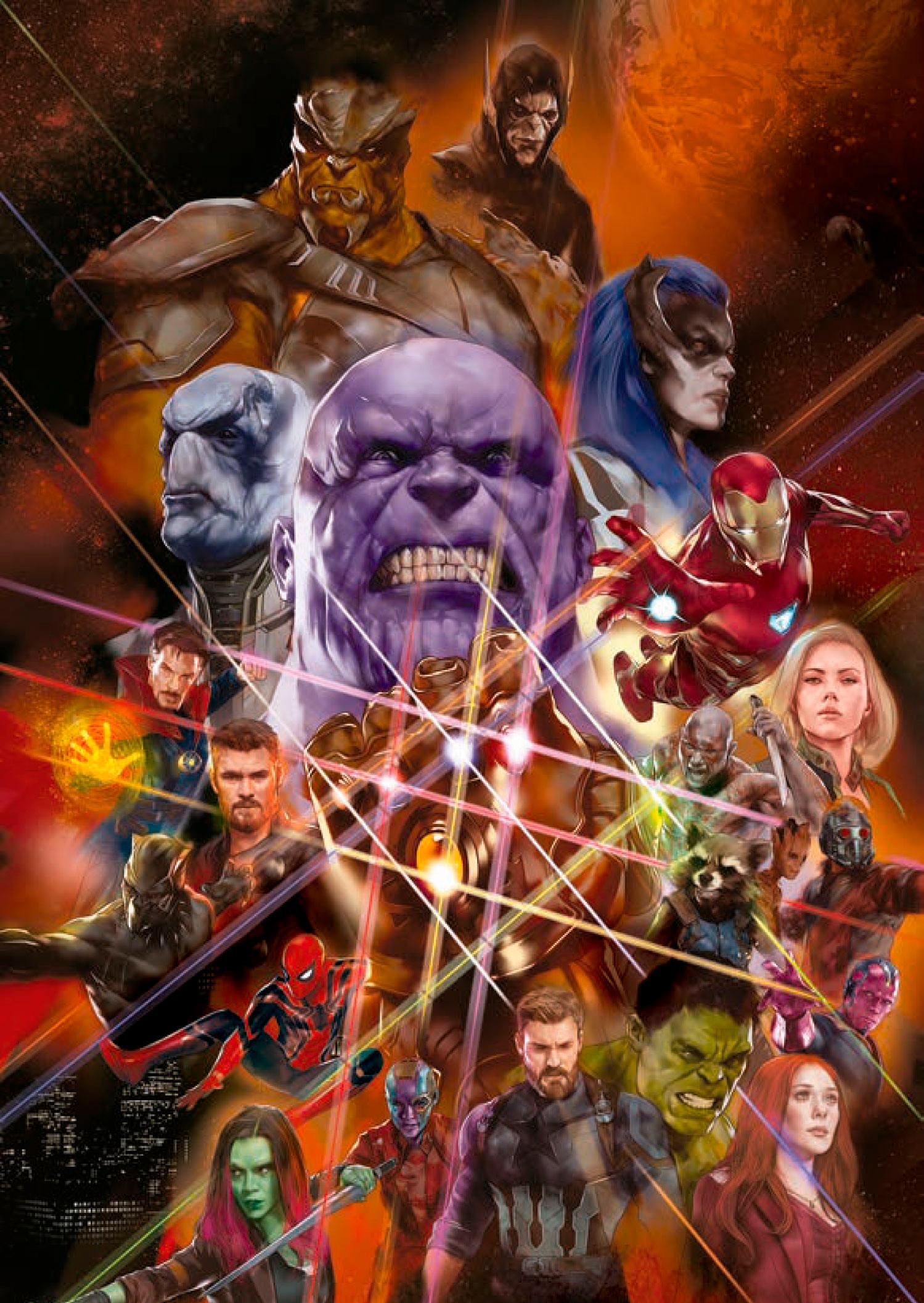 Guerra Infinita ganha novo teaser; assista — Vingadores