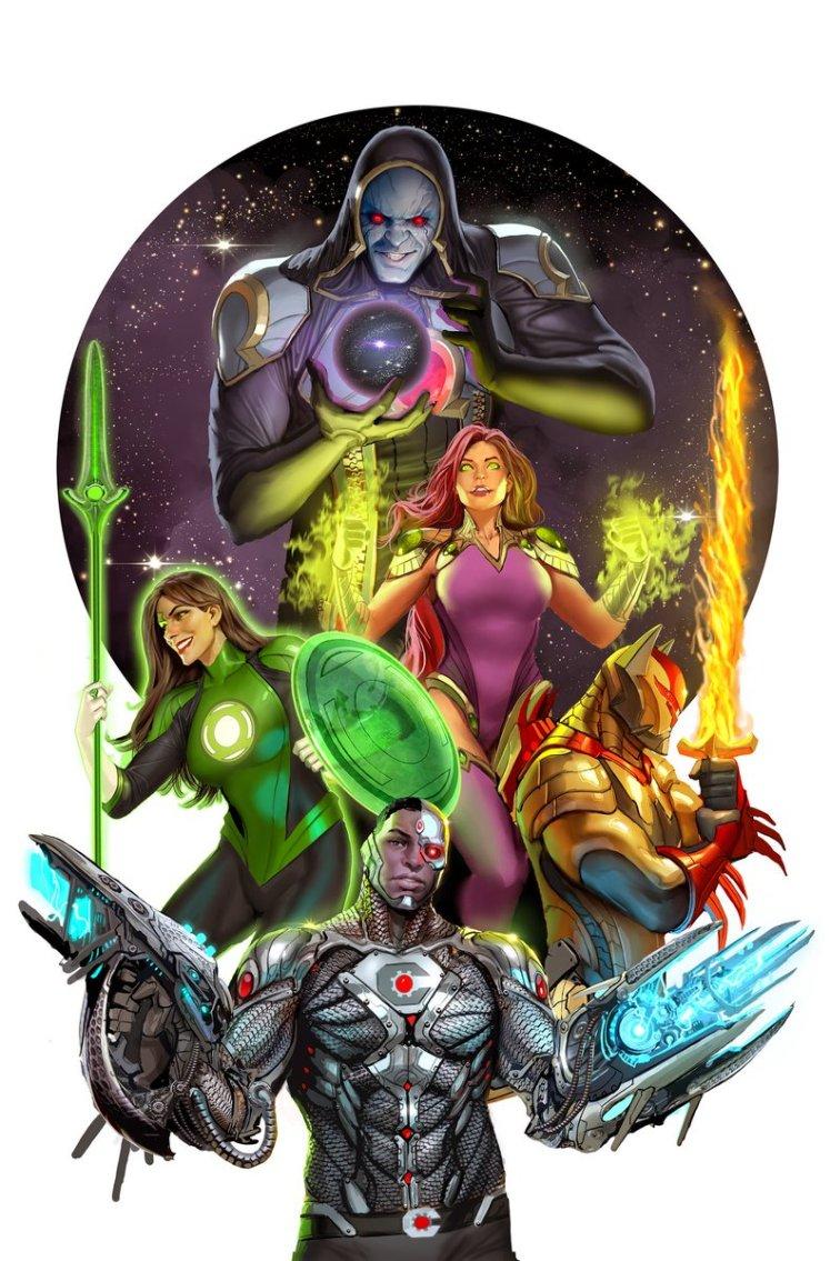 DC Comics anuncia Liga da Justiça Odisseia com Darkseid na equipe!