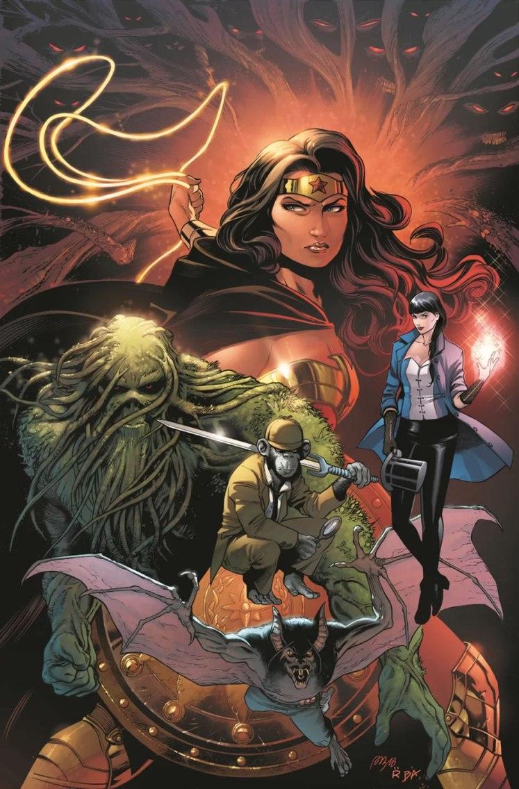 DC Comics anuncia uma nova HQ mensal da Liga da Justiça Sombria com a Mulher-Maravilha!
