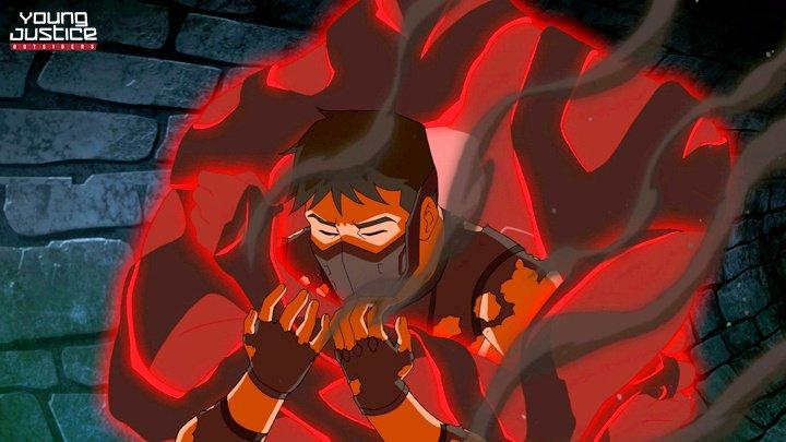 Superboy aparece em perigo em imagens vazadas da terceira temporada de Justiça Jovem!