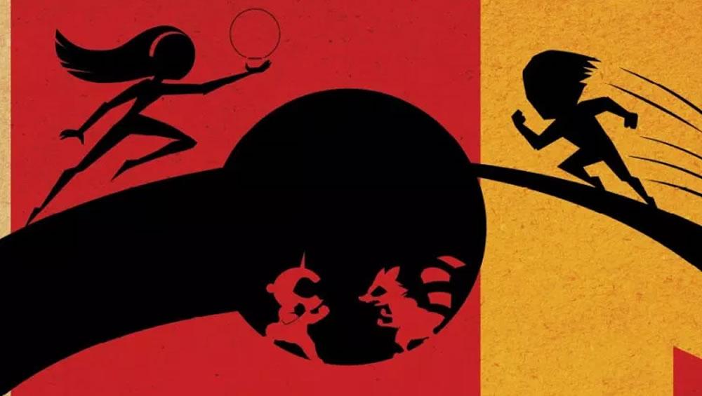 Os Incríveis 2 ganha um pôster minimalista do Dolby Cinema!