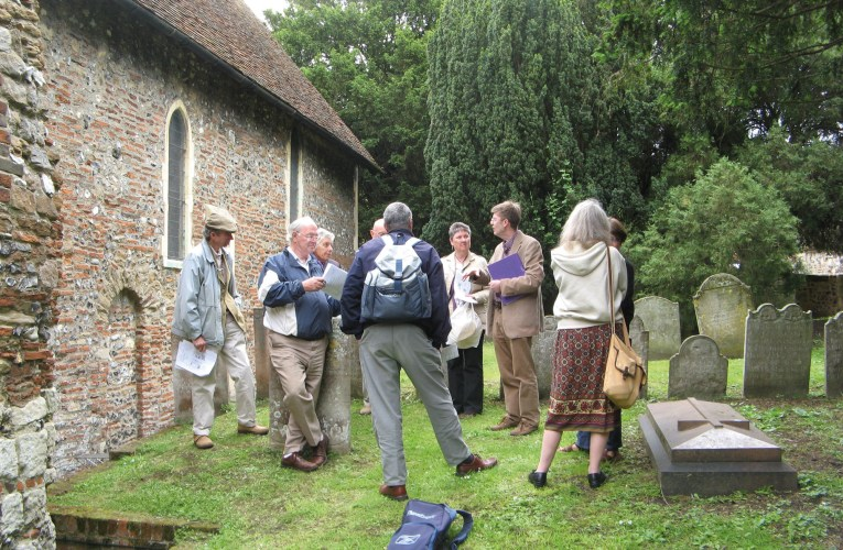 Field trip to the building stones of Canterbury