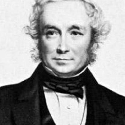 Fig. 3. Portrait of the Rev John Stevens Henslow (1796-1861). See http://friendsofdarwin.com/articles/2000/henslow/.