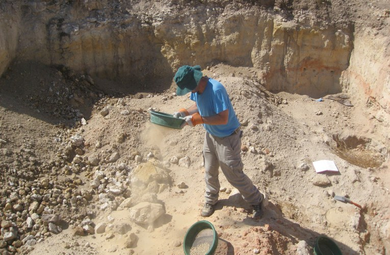 Farming for fossils in Morocco