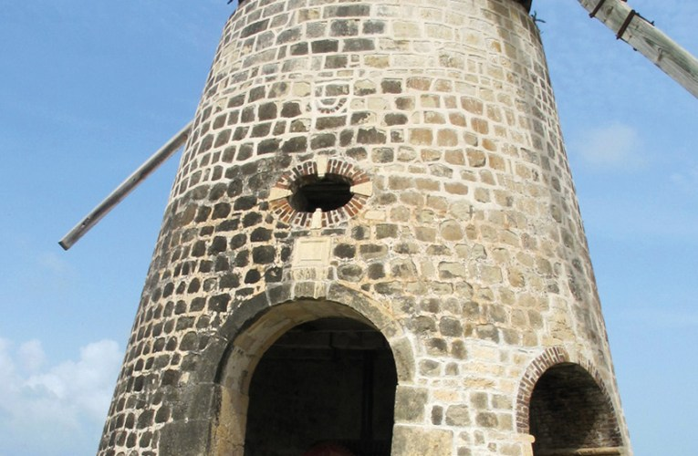 Windmills and building stones: Antigua, West Indies