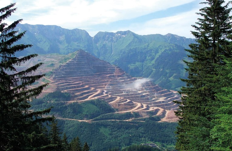 Erzberg Mine in Austria: An iron ore reserve with a long tradition