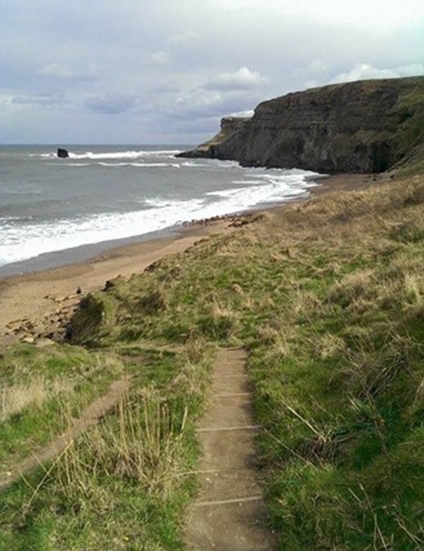 Saltwick Steps