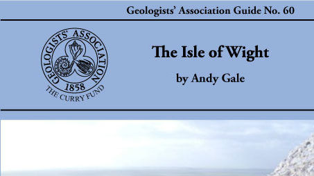Book review: The Isle of Wight: Geologists' Association Guide No. 60, by Andy Gale
