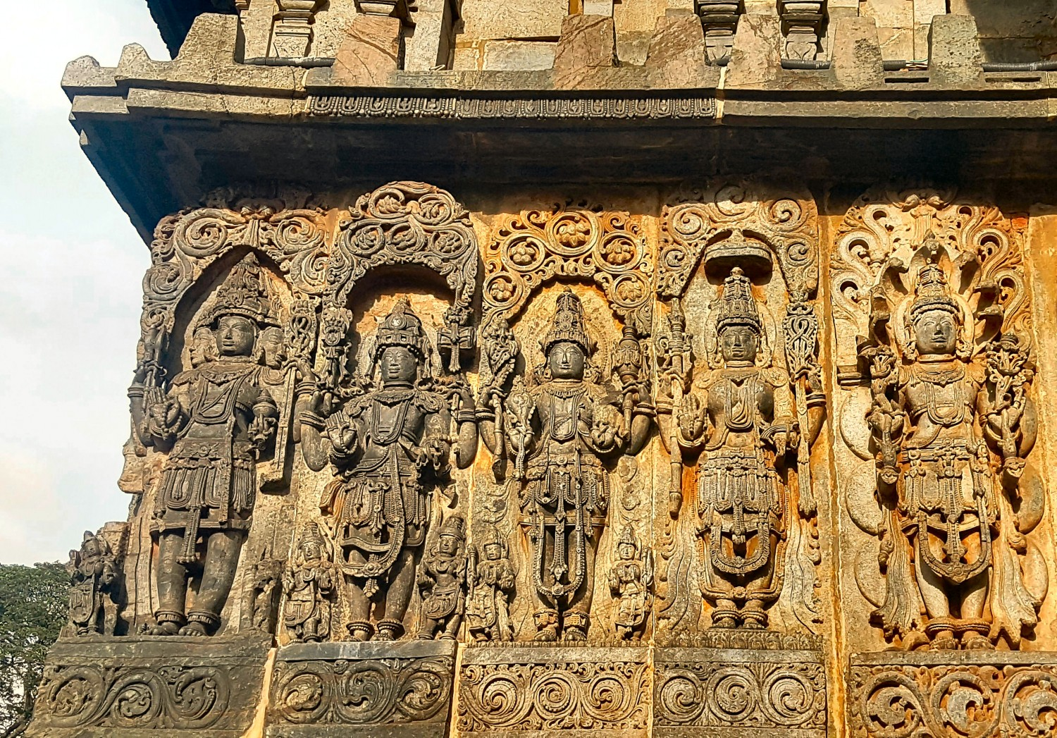 Belur and Halebidu stone temples, Karnataka, India