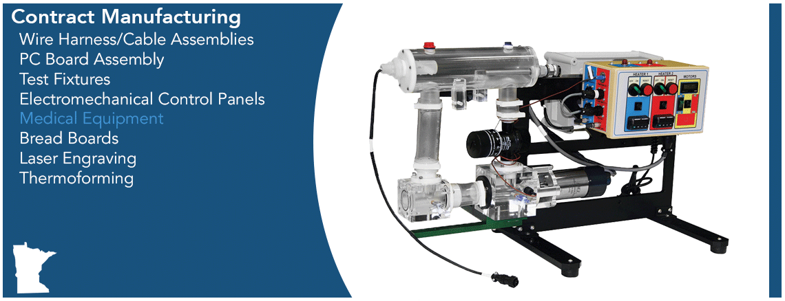 Contract Manufacturing Capabilities Graphic - Medical Equipment