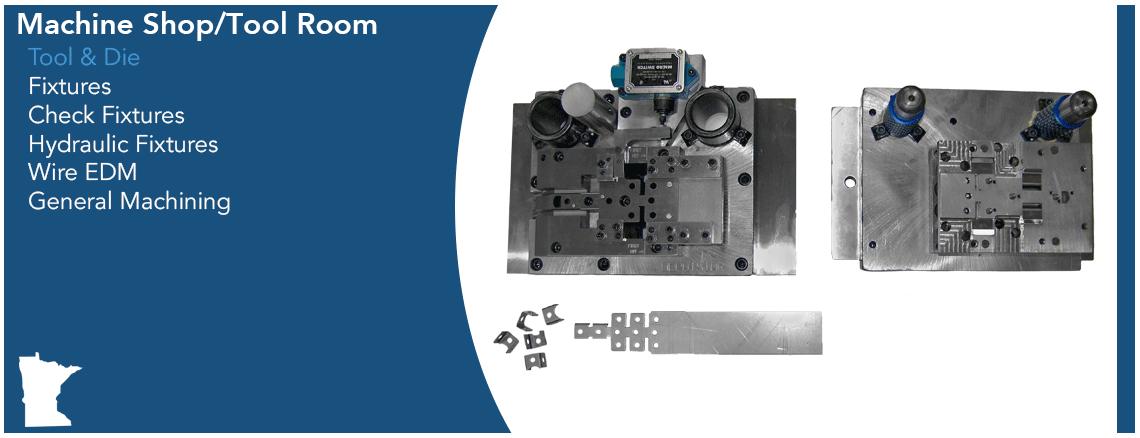 DepotStar Machine Shop Capabilities Graphic - Tool & Die