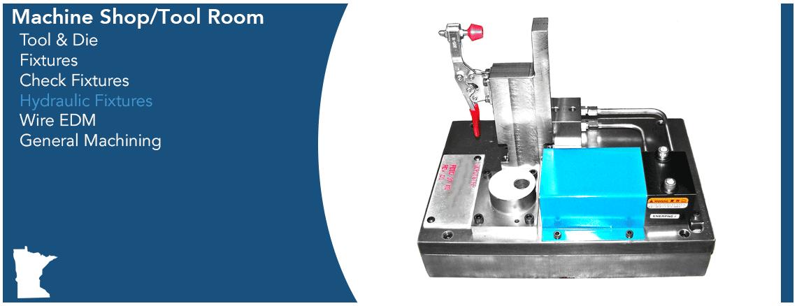 DepotStar Machine Shop Capabilities Graphic - Hydraulic Fixtures