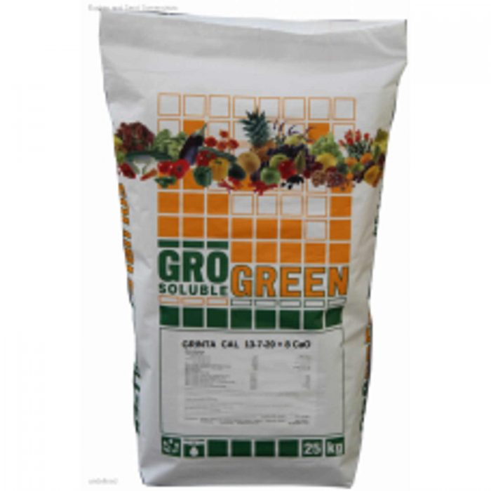 GRINTA CAL 13-7-20 +2MGO + 8 CAO + MICROELEMENTE ingrasamant hidrosolubil