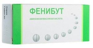 Phenibut skirtas hipertenzijos apžvalgoms
