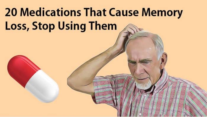 Quit Using These 20 Medications Because They Cause Memory Lo…