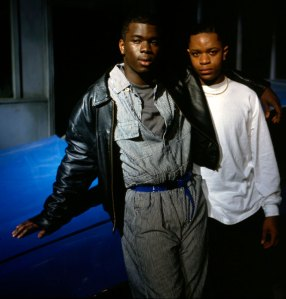Young Soul Rebels photo showing Valentine Nonyela and Mo Sesay