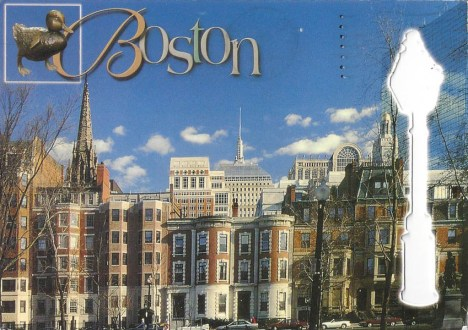 Michael went to Boston, Massachusetts.