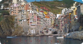 Steve went to Cinque Terre, Italy.