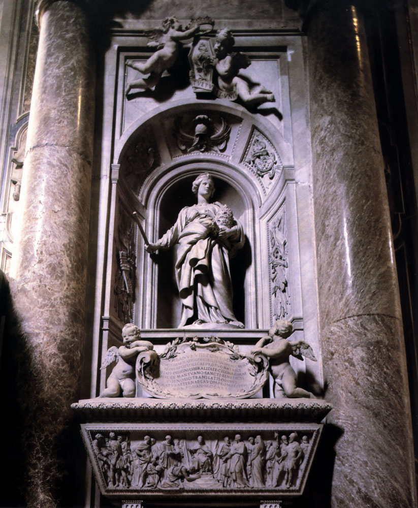 View Article Berninis work at St Peters