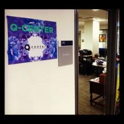 Q Center Door