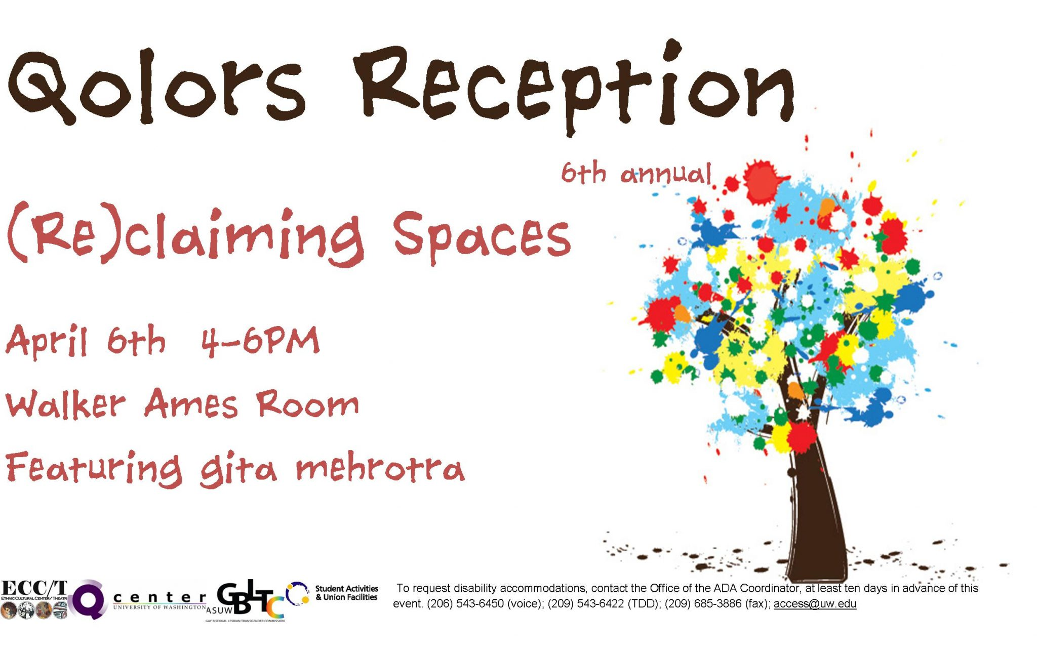 Qolors Reception Poster