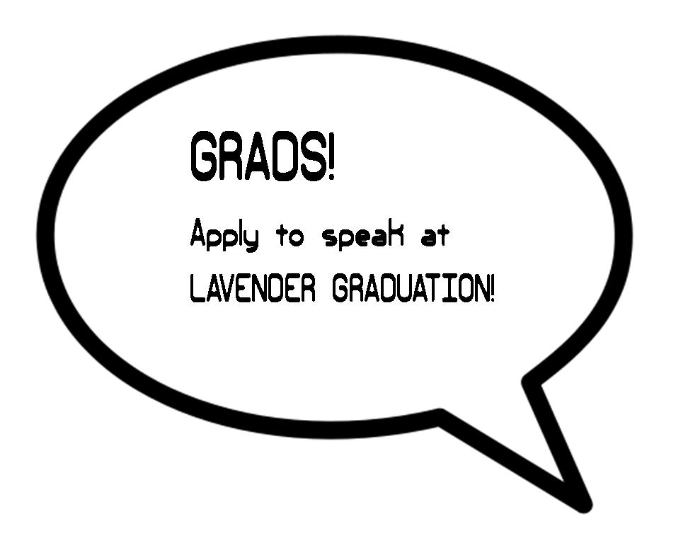 apply to speak at lav grad