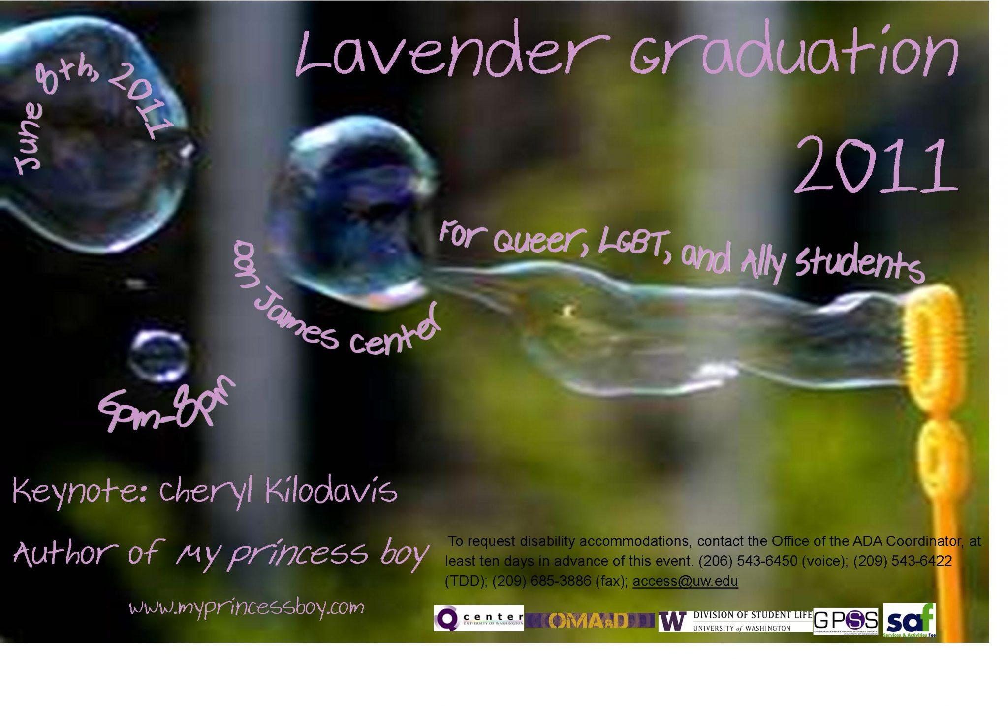 Lavender Graduation Poster
