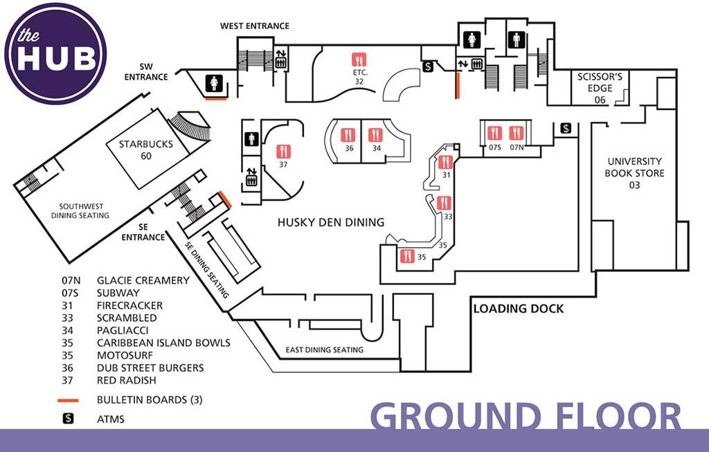 HUB Floor Plans  The HUB