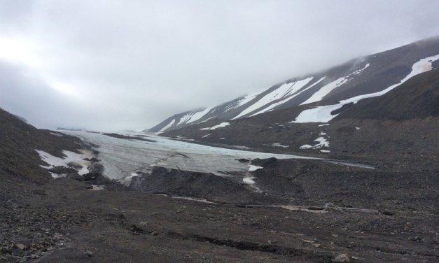 Un paseo hasta el Longyearbreen